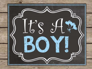 ... Gender Reveal Girl Boy Due Date Poster #kids #quotes #pregnancy