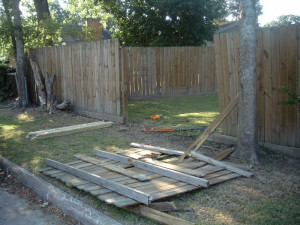 Wooden Fence Repair