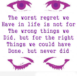 love quotes and sayings about regret quotesgram