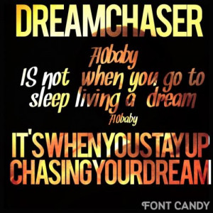 are you a dream chaser 0 up 0 down 710baby meek mill quotes added by ...