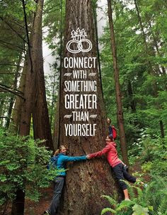 Connect with nature #healthysurprise #inspiration #quote More