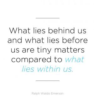 Ralph Waldo Emerson: Inspirational Quotes for Graduates - mom.me