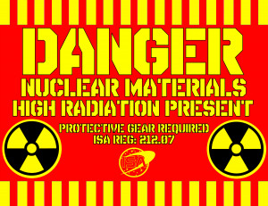 dark sign nuclear radiation danger text wallpaper background