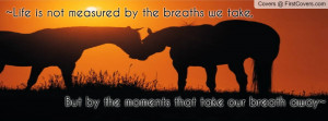 horse quote Profile Facebook Covers