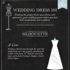 Wedding Dress 101: The Silhouette