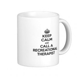 Recreation Therapy Mugs