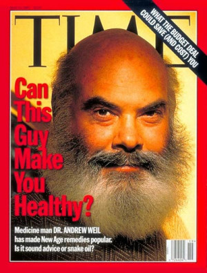 Iconoclastic Dr. Andrew Weil, from Outline.