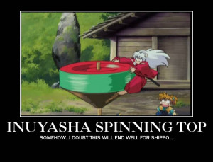 Spinning Top Inuyasha Picture