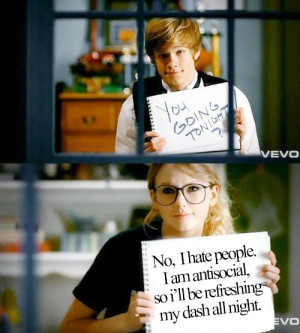 funny, geek, girl, quotes, taylor swift, text, vintage