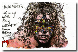 The Insanely Inspirational Art Of The Ultimate Warrior [25 Photos]