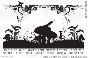 Alice in Wonderland (Quote) - Alice In Wonderland Wallpaper