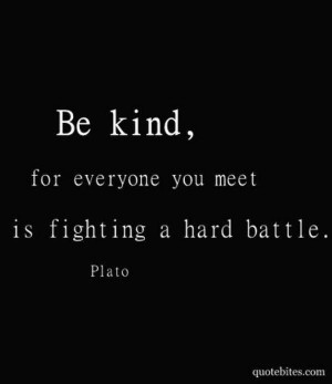Sydney Finfer: be kind-Plato #Lockerz