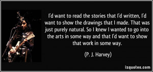 More P. J. Harvey Quotes