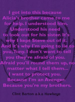 Hawkeye Comics Quote-2