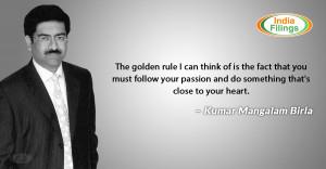 Kumar Mangalam Birla Quote