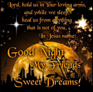 God bless you all, Good night Angel sisters Love in Christ ...