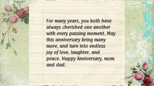 anniversary quotes for parents anniversaryquotes net
