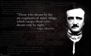 Edgar Allan Poe Quotes, A picture of Edgar Allan Poe along with some ...
