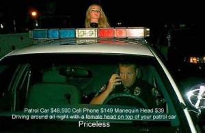 Funny Police Cars