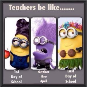 Teacher be like Minion Meme