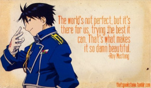 Roy Mustang quote
