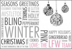 Happy Holiday Quotes Happy holidays from lfw!