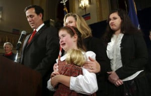 SANTORUM, the frothy mix that is sometimes a byproduct of the Iowa ...