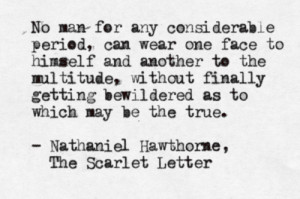 ... nathaniel hawthorne #the scarlet letter #quote #submission