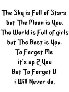 to forget you quote!