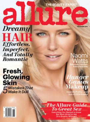 Naomi Watts Interview Quotes in Allure Magazine