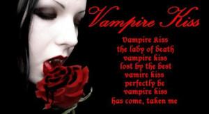 vampire poems