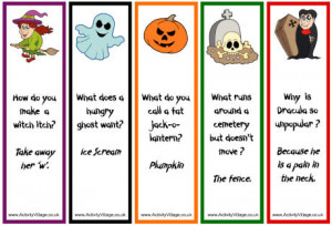 Bookmarks you can print out for the kids!
