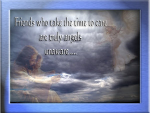 To Help Me Look Within God Sent Me an Angel