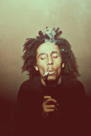 quote life fashion music weed smoke style pot Bob Marley inspire