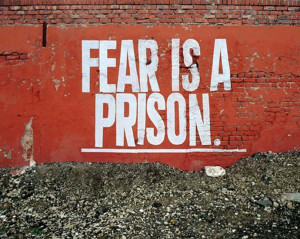 Inspirational Quote: Fear is a Prison ♥ Цитат за ...