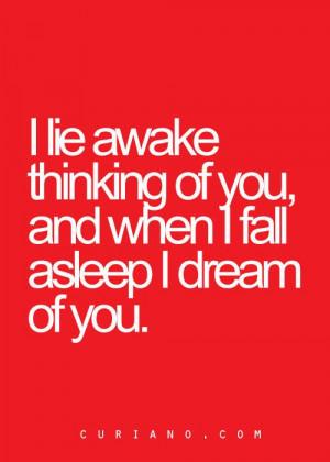 dream of you.