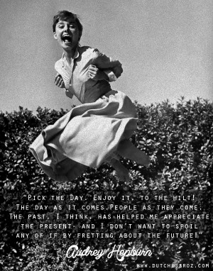 truly love this quote and picture (she's doing a jumping shot ...