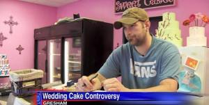 Aaron Klein, owner of Sweet Cakes by Melissa