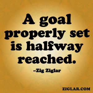 Goals | Ziglar @Tami Allington-ziglar