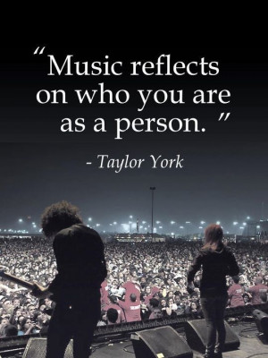 Paramore Taylor York quote