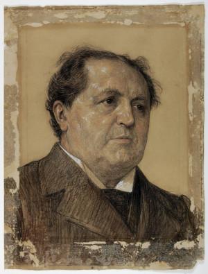 Abraham Kuyper portret door Jan Veth beeld coll Dordrechts Museum