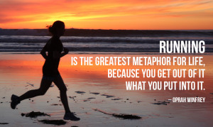 motivational running quote 2 running is the greatest metaphor for life ...