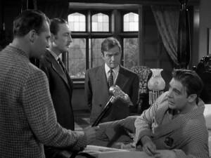 Warren William, Claude Rains and Lon Chaney in The Wolf Man,1941 ...