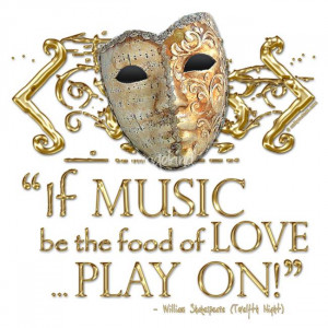 Twelfth Night Music Quote by Sally McLean, Melbourne