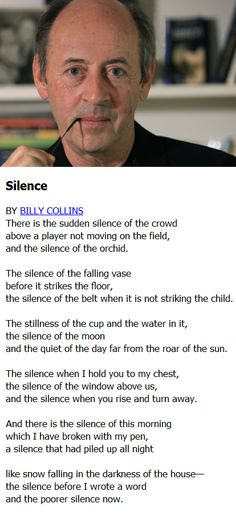 billy collins more shadows side poets speak creative prompts billy ...