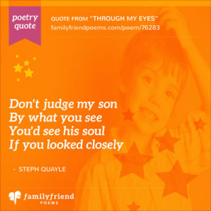 Quote About Special Needs Son - Compassion Quotes