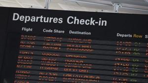 Brisbane Airport Departures