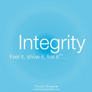 Character And Integrity Quotes Integrity