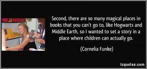 More Cornelia Funke Quotes