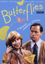 Wendy Craig and Geoffrey Palmer , pictured on Butterflies DVD cover